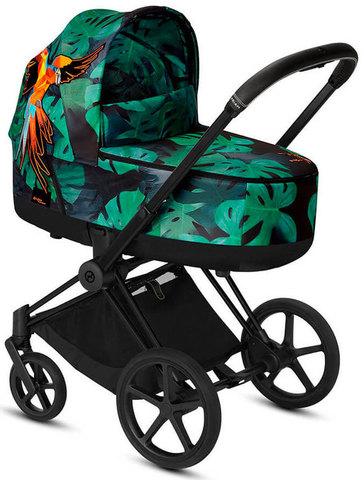 Коляска для новорожденных Cybex Priam III Birds of Paradise