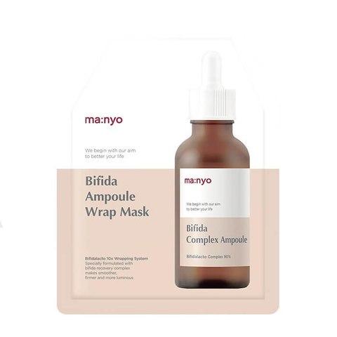 Антивозрастная Маска для Лица MANYO FACTORY Bifidalacto Wrap Mask