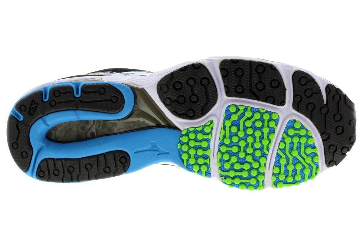 Мужские кроссовки для бега Mizuno Wave Sayonara 2 (J1GC1430 24) серые фото