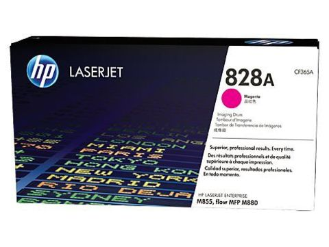 Барабан красный №828A HP Color LaserJet Enterprise flow M880. Ресурс 30К (CF365A)