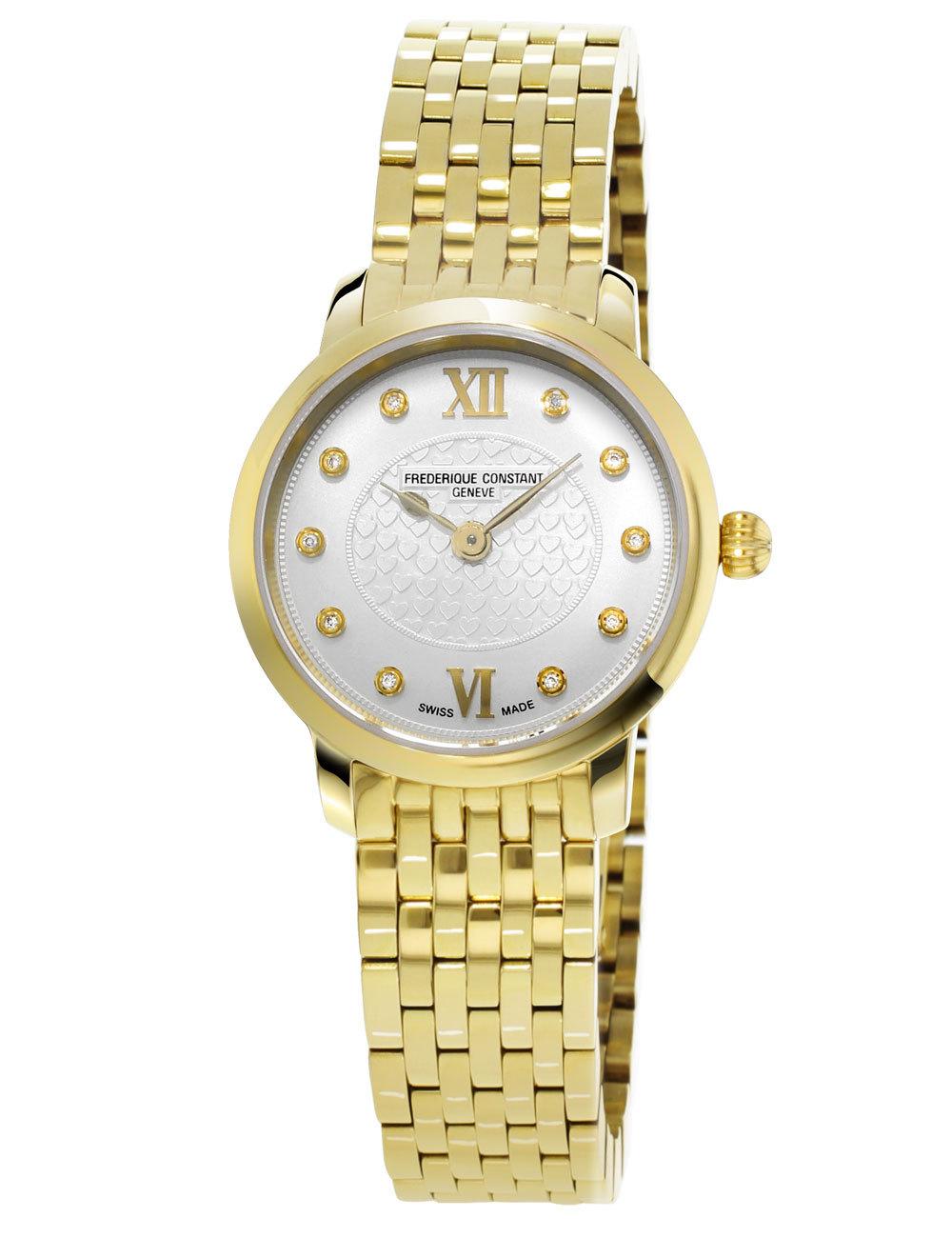 Часы женские Frederique Constant FC-200WHDS5B Slimline Ladies