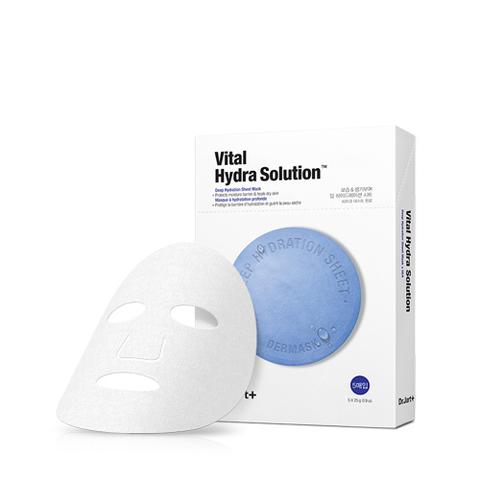 (BIGSALE) Маска Dr.Jart+ Dermask Water Jet Vital Hydra Solution Mask Sheet 1 шт.