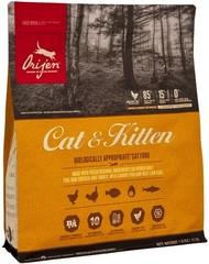Беззерновой корм для кошек и котят всех пород, Orijen Cat & Kitten