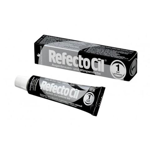 Краска REFECTOCIL для бровей и ресниц №1 (черный), 15 мл
