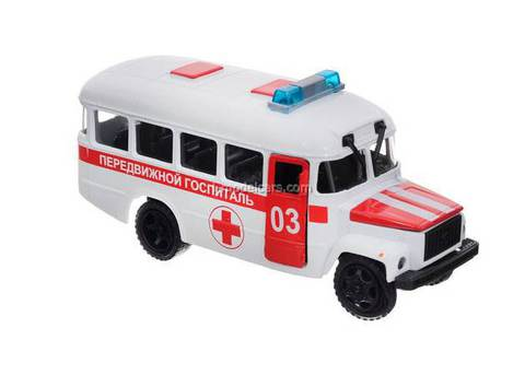 KAVZ-3976 Mobile hospital TechnoPark 1:43