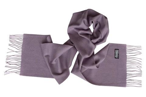 Шерстяной шарф серый 01001