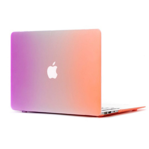 Чехол Macbook Air 13 - Пластиковый Радужный