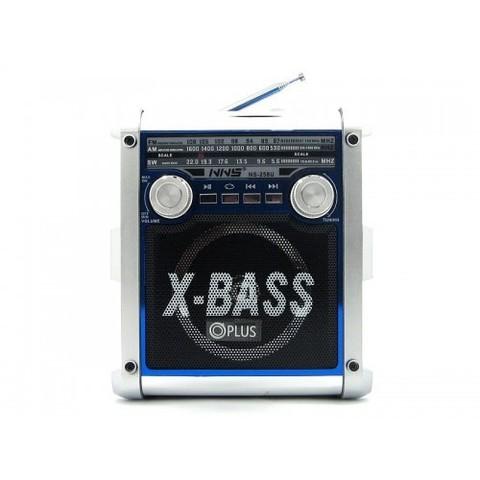 Радиоприемник NS-258U + фонарь, MP3/FM/MicroSD/USB, встроенный аккумулятор, (2xR20)