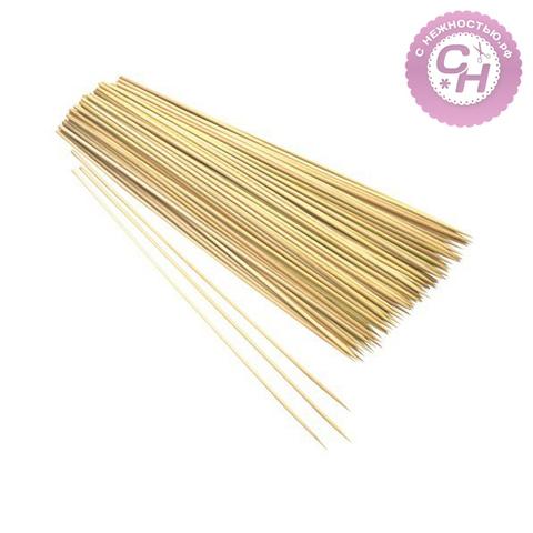 Бамбуковые палочки шпажки для декора, 25 см, 85-90 шт.
