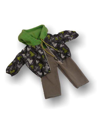 Костюм с курткой - Детали. Одежда для кукол, пупсов и мягких игрушек.