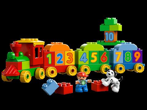 LEGO Duplo: Считай и играй 10558