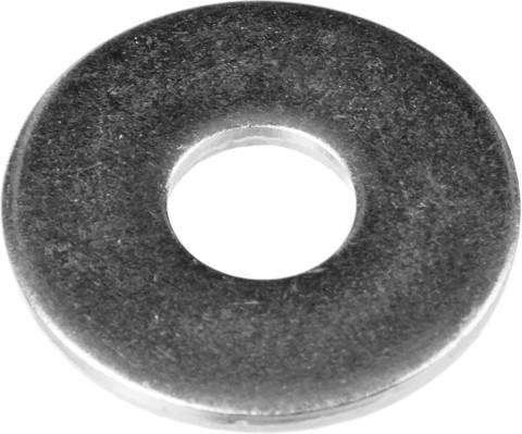 Шайба кузовная, DIN 9021, 4 мм, 50 шт, оцинкованная, ЗУБР