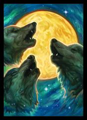 Legion Supplies - 3 Wolves Протекторы матовые 50 штук