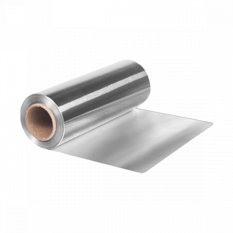 Фольга 18 мкр 12 см х 100 м серебро
