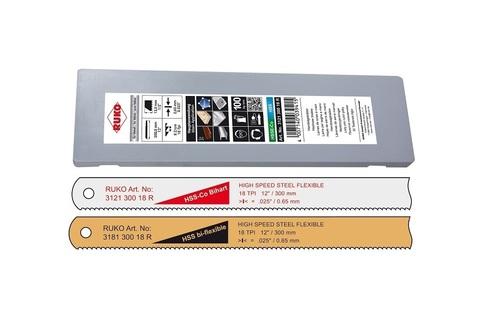 Полотно по металлу Ruko д/ножовки HSS Bi-flexble 300мм 32z 318130032R