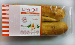 """Хлеб низкоуглеводный """"Брэд Фит"""" с чесноком"""