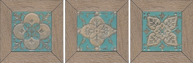 Вставка Меранти беж мозаичный 13х13