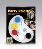 MEHRON Палитра грима на водной основе Fantasy FX Party Palette, (5 цветов по 7 г)