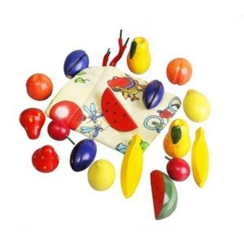 Волш. мешочек Фрукты-ягоды цветн. (RNToys)