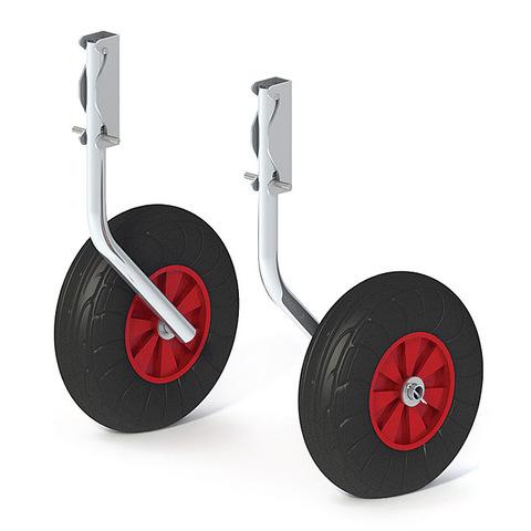 Комплект колес транцевых быстросъёмных для НЛ 260 мм Zn