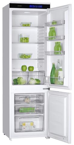 Встраиваемый двухкамерный холодильник Graude IKG 180.1