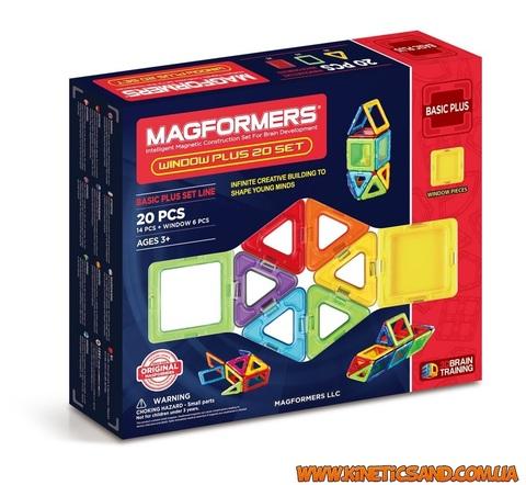 Magformers 20 элементов. Набор Супер 3Д плюс