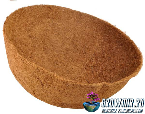 Кокосовое кашпо  Ø 35 см