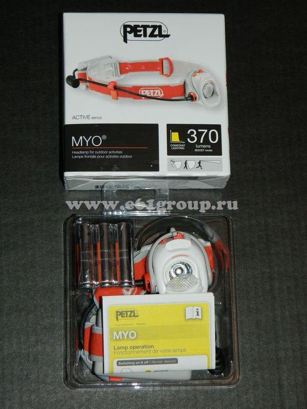 светодиодный фонарь Petzl MYO акции