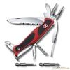 Нож перочинный Victorinox RangerGrip 174 Handyman 130мм 17 функций красно-чёрный (0.9728.WC) нож перочинный victorinox swisschamp 1 6795 lb1 красный блистер