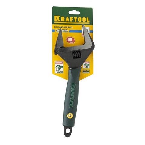 Ключ разводной SlimWide, 300 / 60 мм, KRAFTOOL