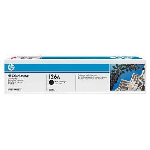 Картридж HP 126A (HP CE310A) черный для HP LaserJet Pro CP1025, CP1025nw (ресурс 1200 стр.)
