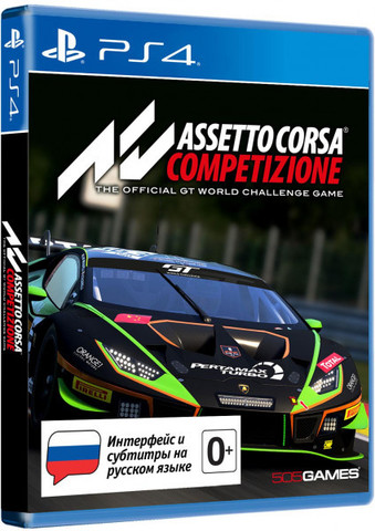 PS4 Assetto Corsa Competizione Стандартное издание (русские субтитры)