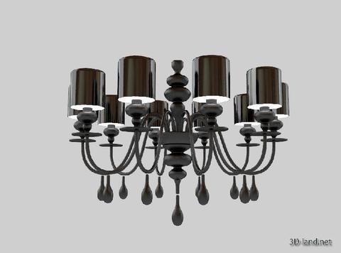 replica  EVA S10 pendant lamp (black)