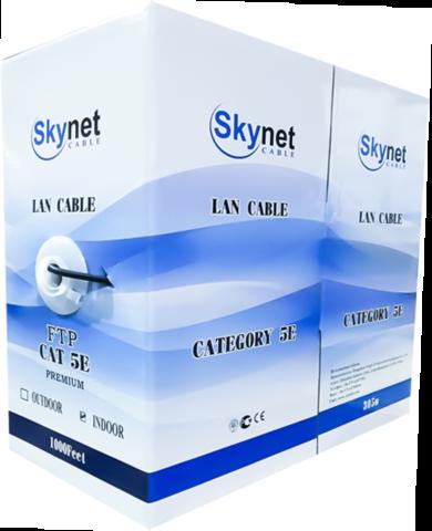 Купить кабель витая пара FTP indoor 2x2x0,46 24AWG Cu, Fluke test, 305м., SkyNet Light (CSL): цена за метр