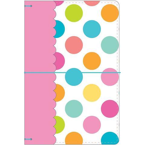 Блокнот (тревелбук) - Doodlebug Travel Planner - 14х23 см - Lot O' Dots