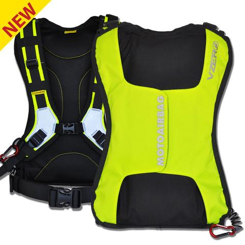 Жилет-подушка безопасности мотоциклиста vZERO MOTOAIRBAG® Желтый