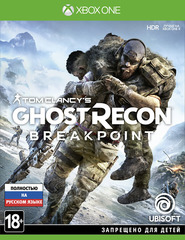Xbox One Tom Clancy's Ghost Recon: Breakpoint (русская версия)
