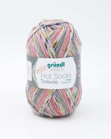 Носочная пряжа Gruendl Hot Socks Torbole 02 купить