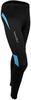 Тайтсы беговые Nordski Premium Black-Aquamarine женские