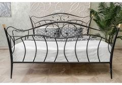 Кровать Мила (Mila 200x160) черная