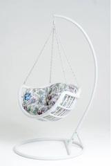 Подвесное кресло-качели Vinotti Makadamia White