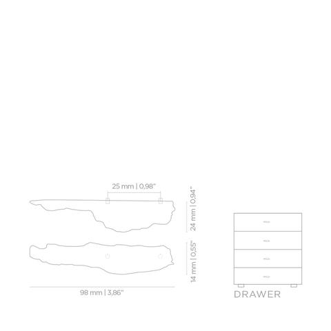 Мебельная ручка PullCast KESYA EA1006