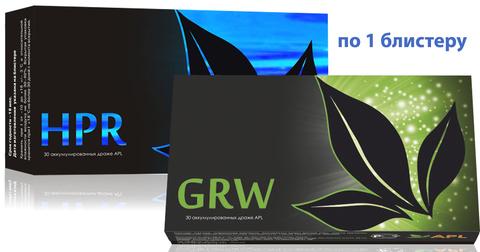 APL. Аккумулированные драже APLGO HPR+GRW для очищения и восстановления печени, общего оздоровления организма по 1 блистеру