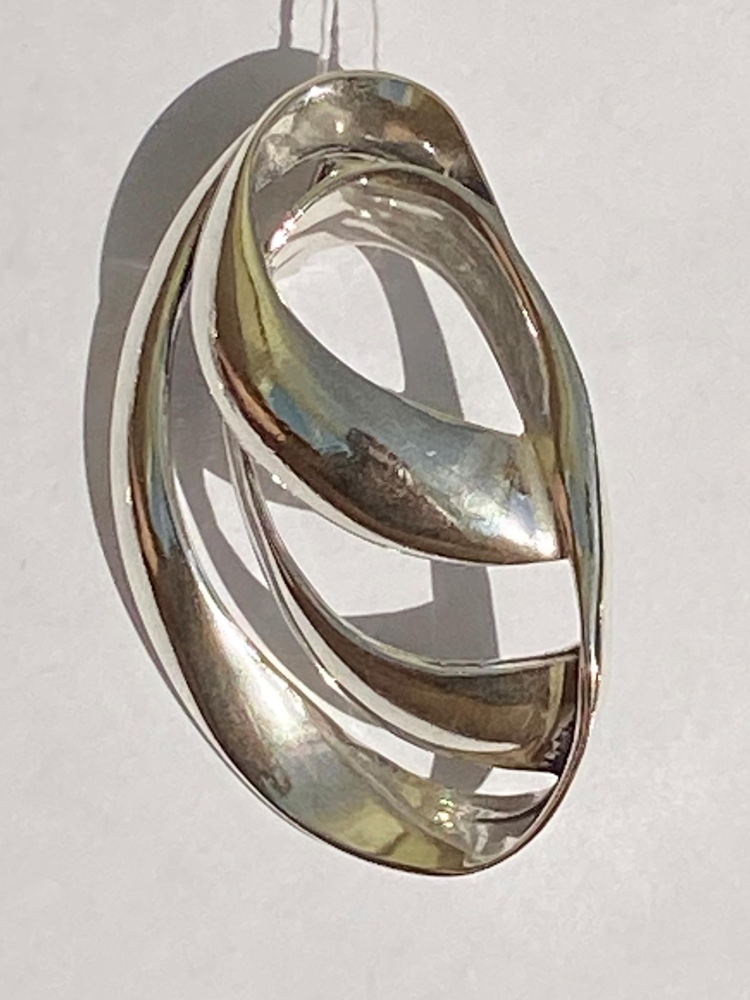 Шторм (серебряный кулон)