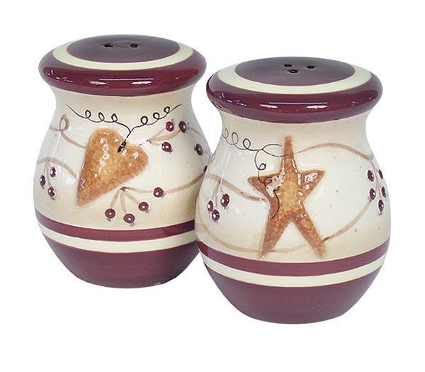 Кухня Набор солонка и перечница Blonder Home Heart & Stars by Linda Spivey nabor-solonka-i-perechnitsa-blonder-home-heart-stars-by-linda-spivey-ssha.jpg