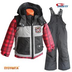 Комплект для мальчика зима Gusti Boutique 4992 True red