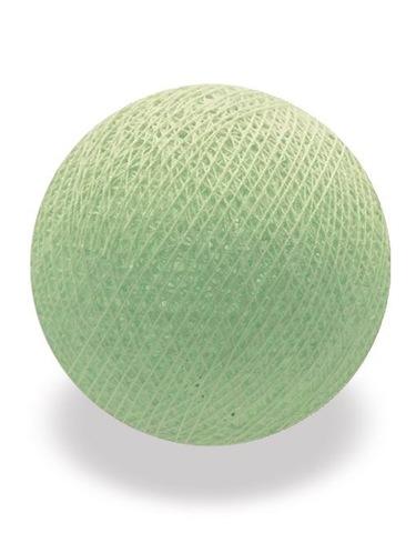 Хлопковый шарик нежно-салатовый