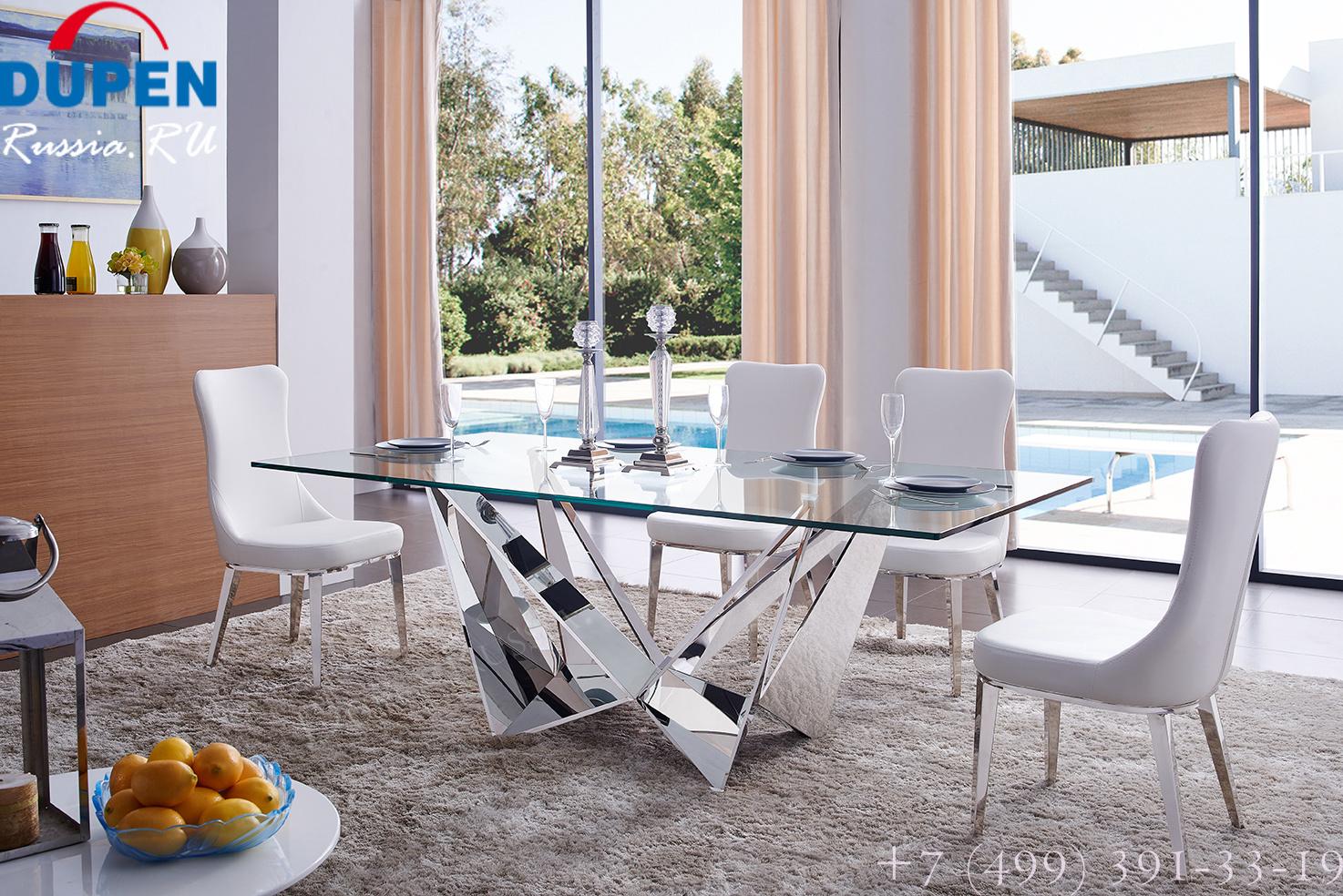 Стол T102 C прозрачный