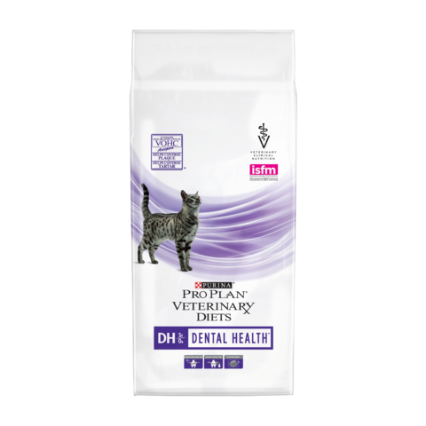 Purina Pro Plan Veterinary diets DH Dental Health Сухой корм для кошек при заболеваниях ротовой полости