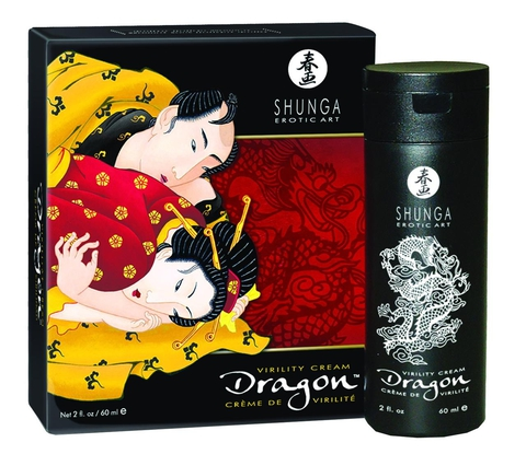 Крем для эрекции Shunga DRAGON CREAM 60 МЛ